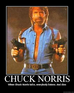 Chuck norris lost his virginity before his