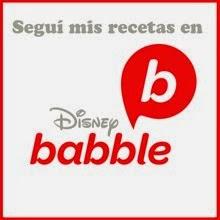 También cocino en Disney Babble
