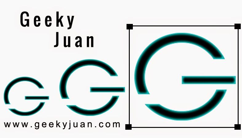 Geeky Juan - Resizing Glyphicons