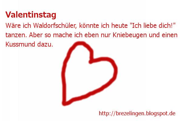 Erwin Macht Sich Gedanken Zum Valentinstag .