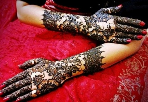 Arabic Hand Mehndi designs For Eid