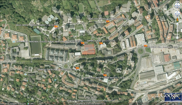RAFAEL MELCHOR GARCÍA ETA, San Sebastián, Donostia, Guipúzcoa, Gipuzkoa, España, 25/11/85