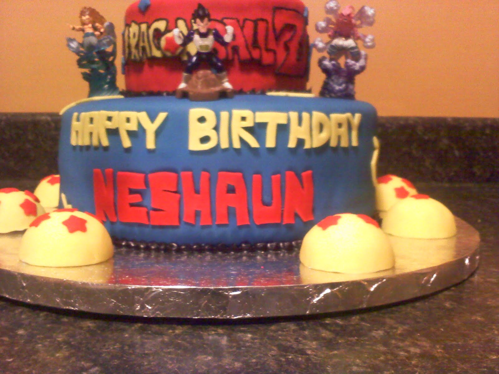 Lick Your Lips Cakes: DragonBall Z Cake