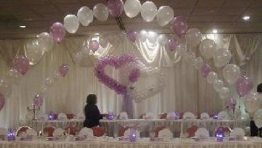 wedding balloon decoration When you are seeking a wedding arch decoration or