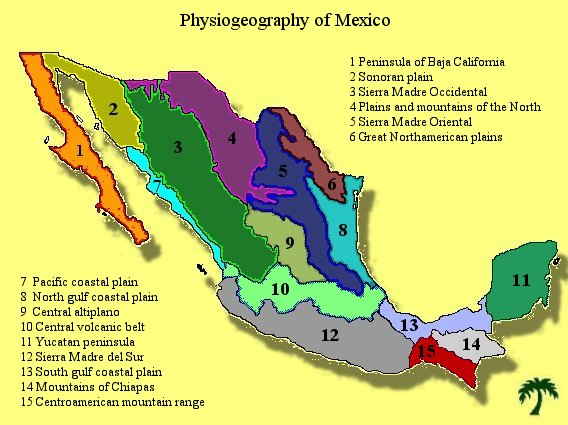 Geography Ground Of Mexico S History And Culture Jenny S Journal