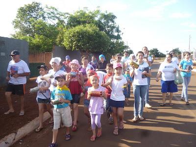 1º Bate Latas da IAM e JM da Comunidade São Francisco Xavier, em Rio Verde/GO