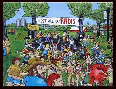 Le festival du radis
