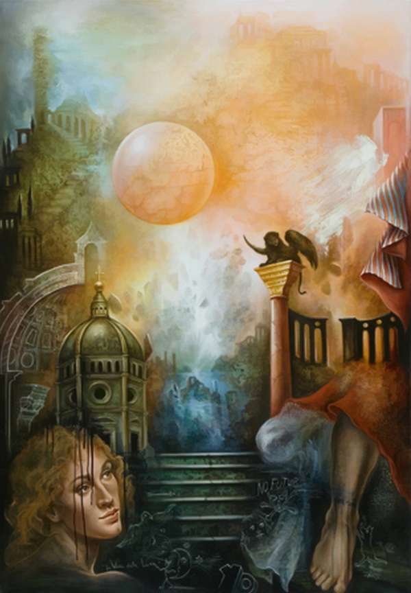 Yo Coquelin   French Fantastic and Visionary painter
