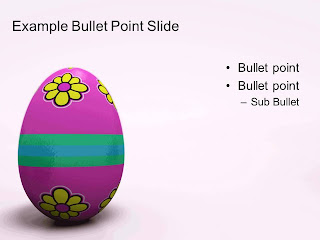 Free download Easter PowerPoint template 006B