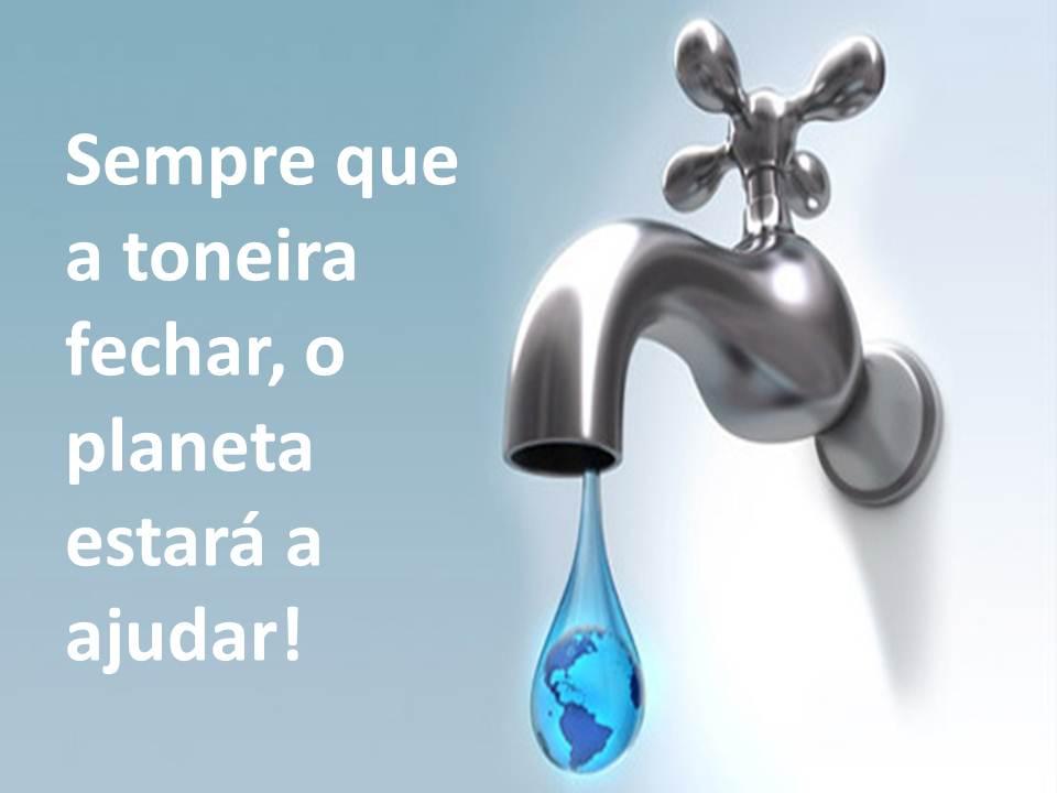 Ecoteen Frase Do Dia Poupança De água