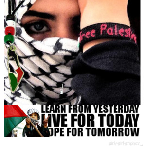 palestine tomorrow will be free ~