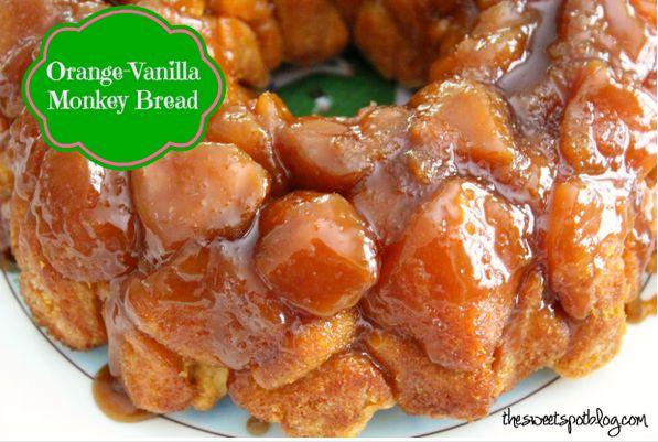 Orange Vanilla Monkey Bread