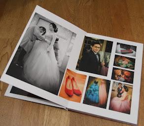 婚禮精裝相片書~比婚紗相本更有回憶價值