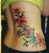 You can also opt for sprawling flower tattoo design to be positioned on your .