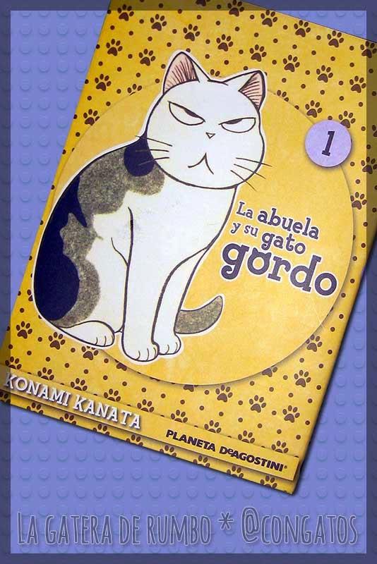 Portada manga Gato Gordo