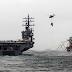 Continua La armada de EE.UU. y sus aliados maniobran en las barbas de Irán