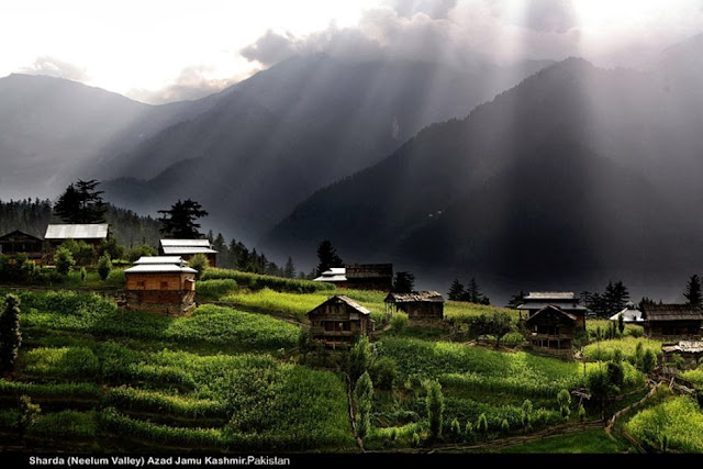 Gambar Lembah di Pakistan Cantik @ Digaleri.com