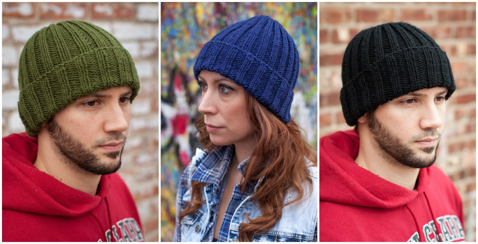 Flat Knit Hats For Adults