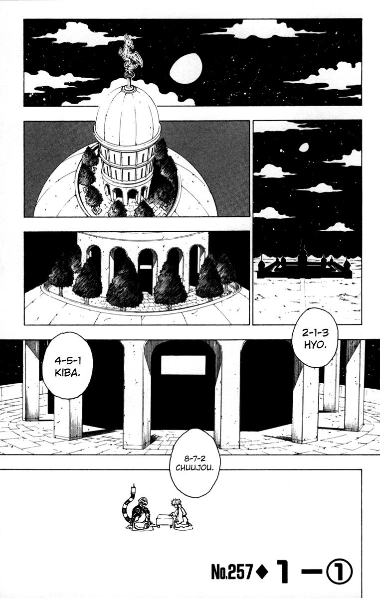 Komik manga HunterXHunter257 p01 hunter x hunter