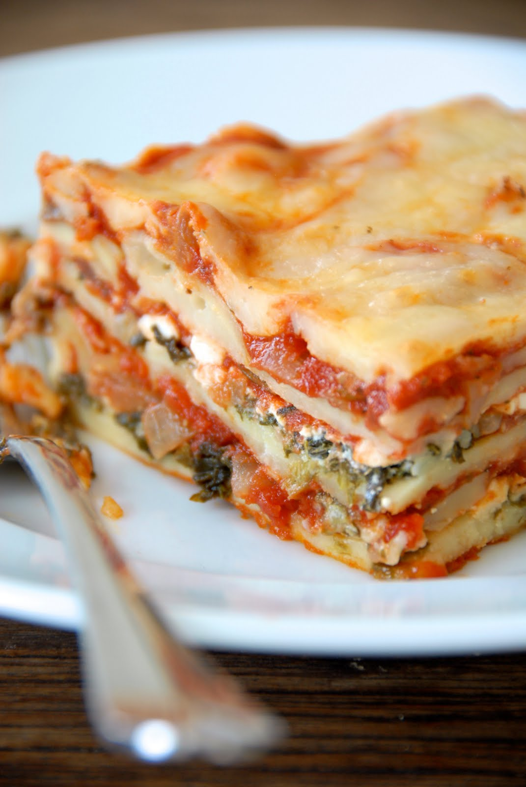 Gluten-Free Ratio Rally: Vegetable Lasagna | Kumquat