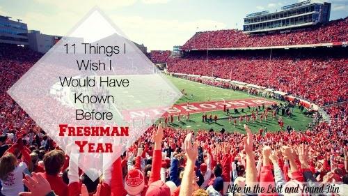 11 Things I Wish I Knew Before Freshman Year