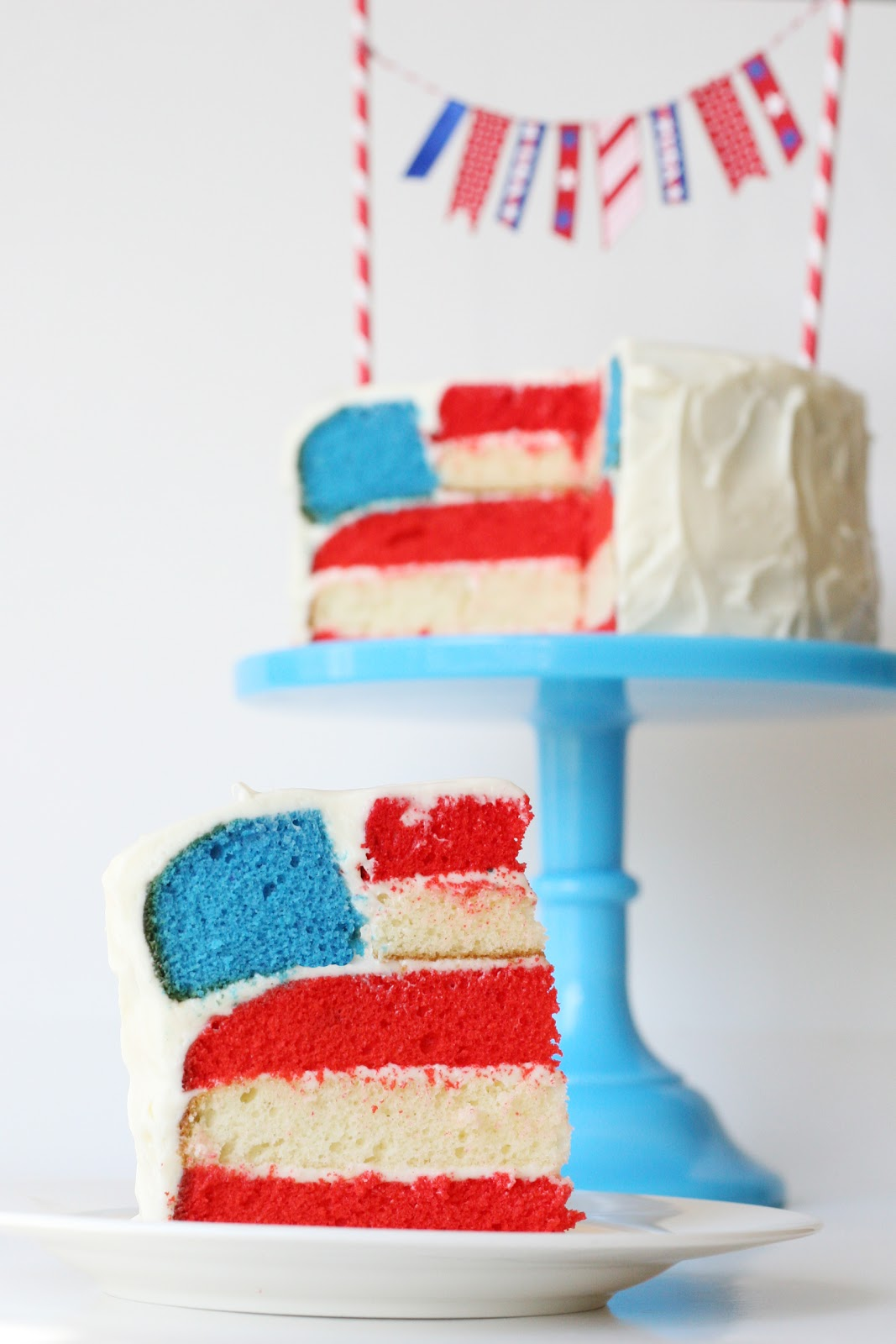 4th of July Flag Cake – Glorious Treats