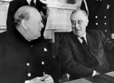 On This Day In History - December 22, 1941 - Churchill & Roosevelt discuss war and peace, which eve
