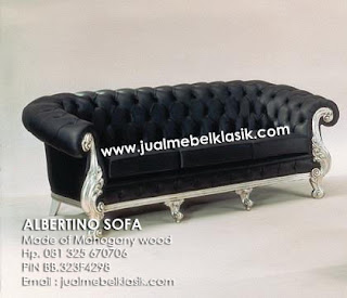 Supplier Classic Indonesia Furniture Classic wooden sofa classic carved sofa classic mahogany sofa classic sofa silver painted