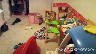 Kid's Messy Bedroom