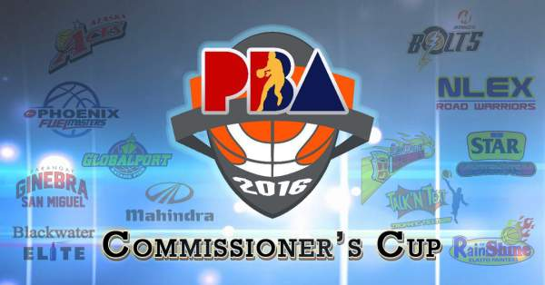 PBA Commissioner's Cup 2016 | Schedule of games, standings, results and updates