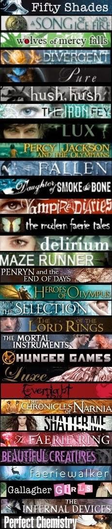 Algunas de mis sagas