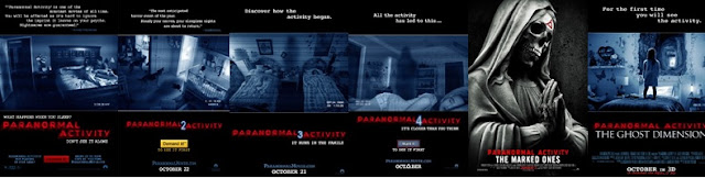 All paranormal activity posters