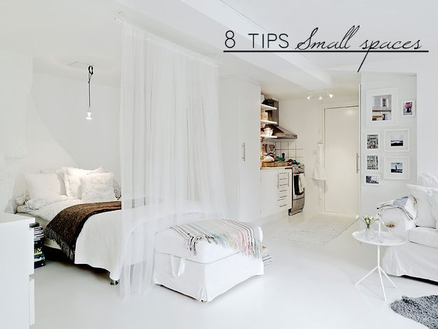 DECO   8 TIPS FOR SMALL SPACES