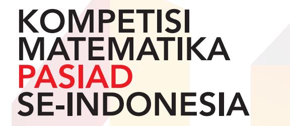 Kompetisi Matematika Pasiad 10 Matematika