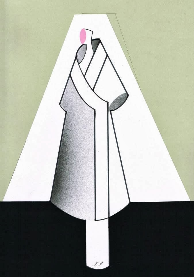 Doctor Ojiplático. Piet Paris. SS 2014 for Showstudio. Fashion Illustration