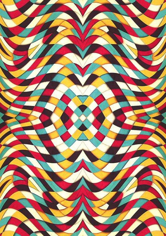 Patternprints journal psychedelic geometric patterns into for Poster psichedelici
