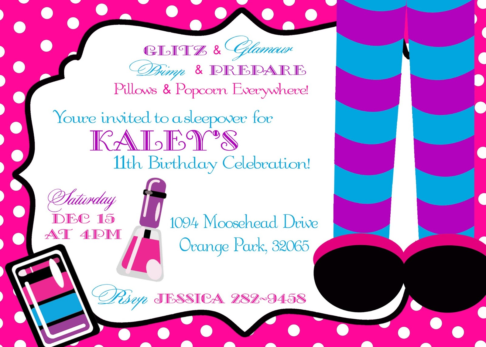 Girly Momma Designs: Spa Themed Birthday Party - Its Spatacular!