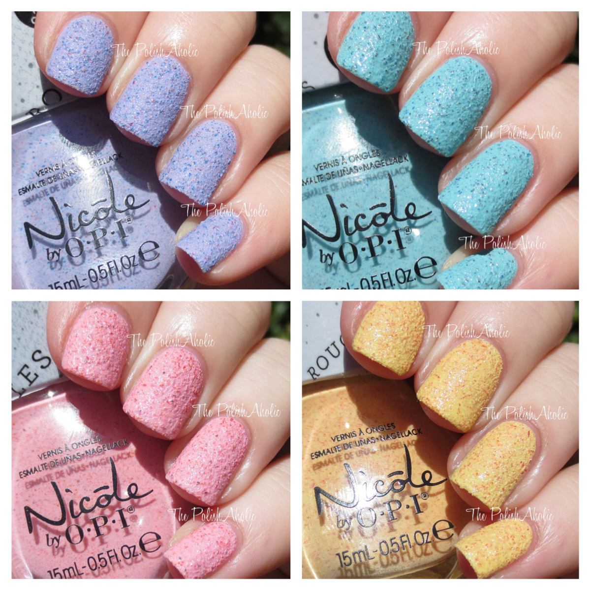 The PolishAholic: Nicole by OPI Roughles Collection