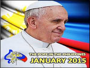 POPE VISIT IN THE PHILIPPINES 2015