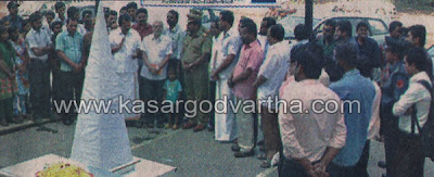 Kasaragod, Road, Accidental-Death, Homage, Rotary-club