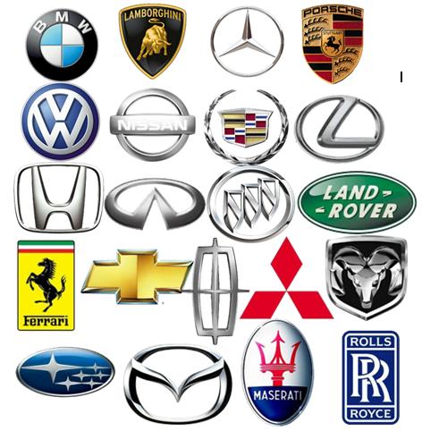 Auto Logos With Names