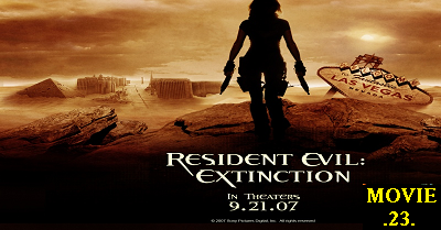 Resident Evil, Extinction, zombies