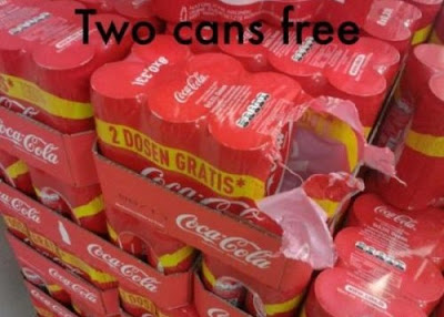 Two cans for free