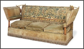 A Collection Of Knole Sofas Sold By Christieu0027s Auction House