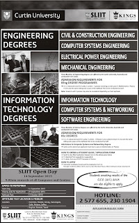 Engineering Degree Programmes offer SLIIT Sri Lanka