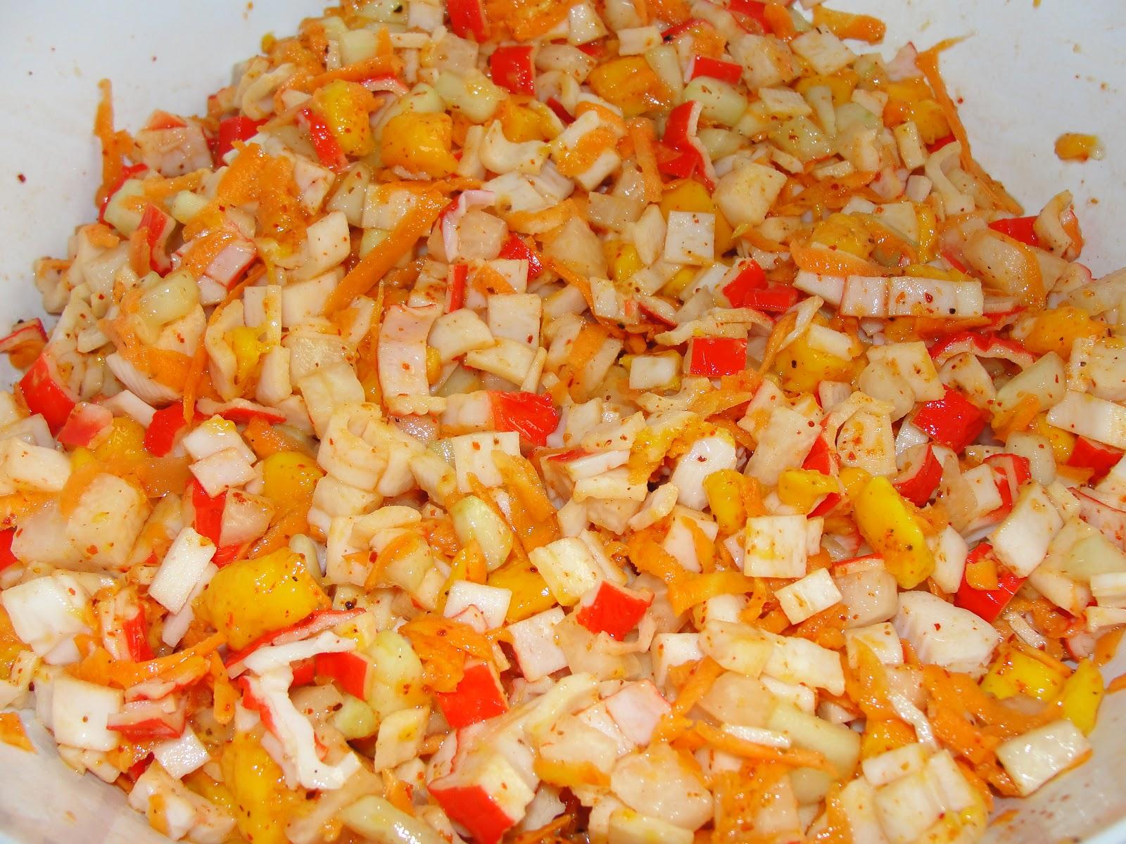 Disfruta cocinar surimi con mango for Cocinar con mango