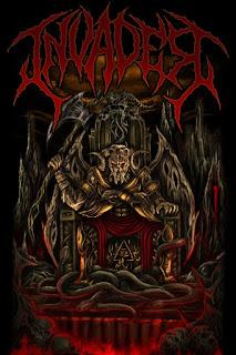 Invader Band Extreme Death Harmonic Metal Cimahi Bandung Jawa Barat