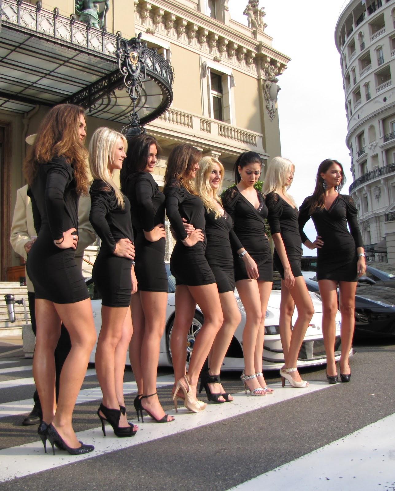 Monaco Car Show Pin Up Amp Grid Girls
