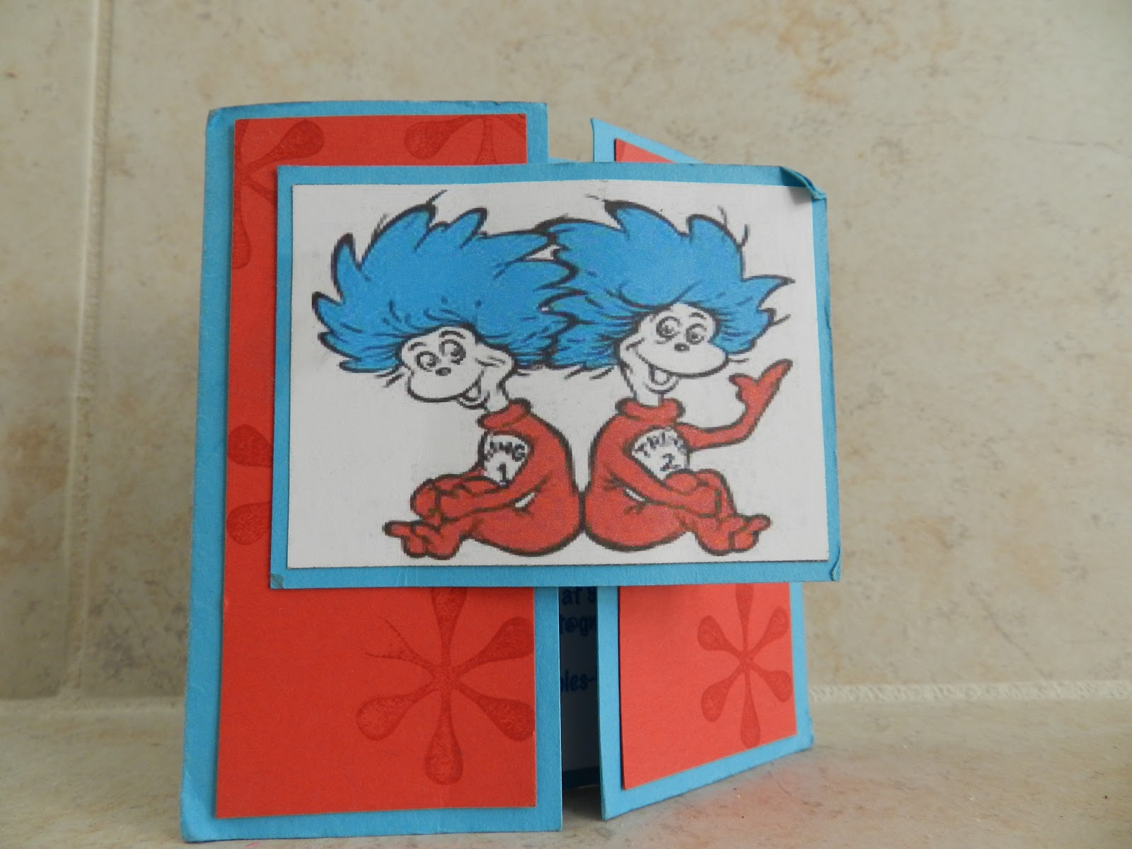 thing 1 thing 2 baby shower invite