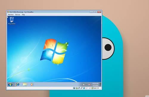 machine software for windows 7